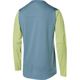 Fox Flexair Delta Langarm Trikot Herren light blue